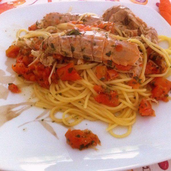 Spaghetti con le Parnocchie